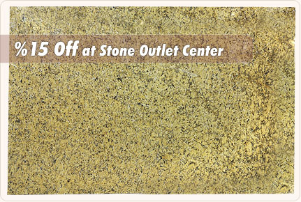 a slab of granite which is popular in the US