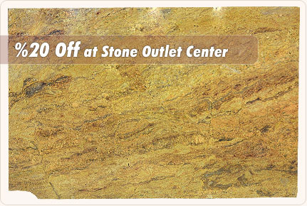a beautiful slab of gold-colored granite slab