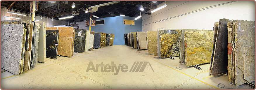 granite warehouse and slab inventory